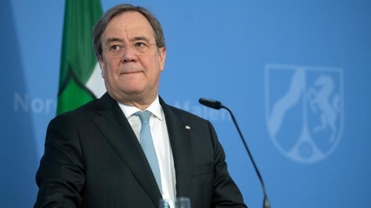 Armin Laschet (CDU), Ministerpräsident von Nordrhein-Westfalen, steht wegen seiner geforderten Corona-Lockerungen in der Kritik. (Foto)