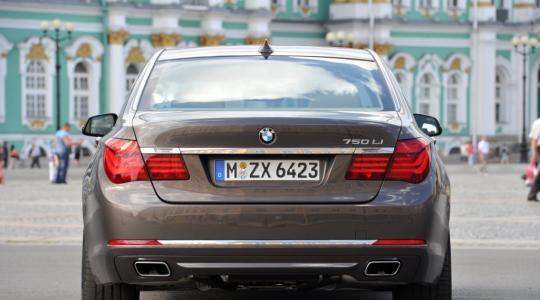 Die besten Bilder zu BMW 750 Li: Klassenbester (Foto)