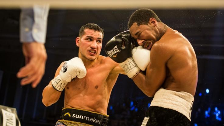 Jack Culcay vs. Demetrius Andrade. (Foto)
