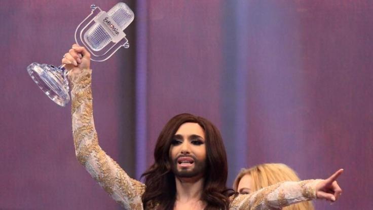 Conchita Wurst hat gewonnen.