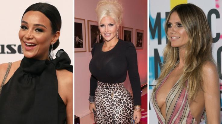 Bei Verona Pooth, Sophia Wollersheim und Heidi Klum (v.l.n.r.) wurde der Schlussstrich gezogen - womit die Promi-Damen kurzen Prozess machten, erfahren Sie in den Promi-News der Woche. (Foto)