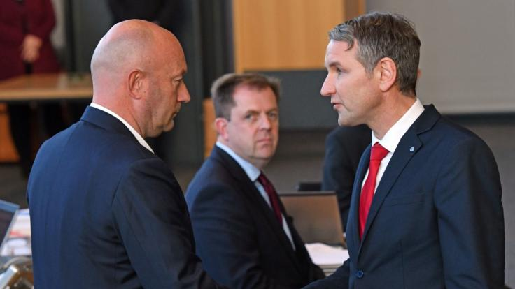 FDP-Politiker Thomas Kemmerich hat sich mit Stimmen der AfD zum Ministerpräsidenten wählen lassen.