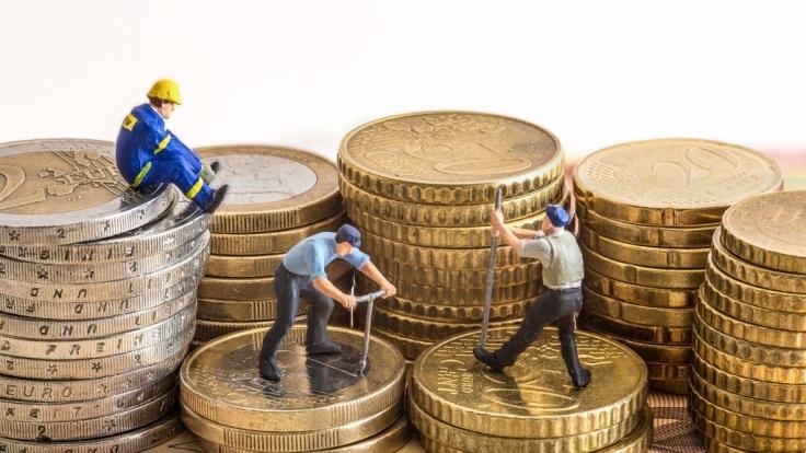 Die Rente soll im nächsten Jahr um 2 Prozent steigen. (Foto)