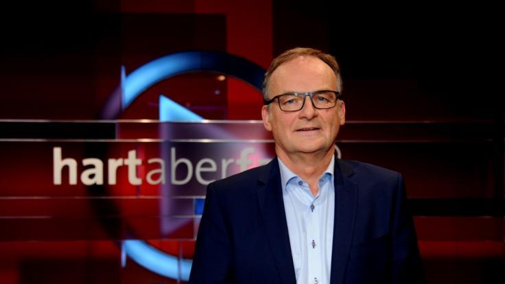 "Frank Plasberg moderiert ""hart aber fair"". (Foto)"