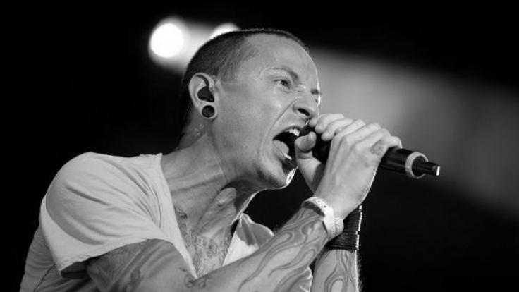 Linkin Park-Sänger Chester Bennington soll sich erhängt haben. (Foto)
