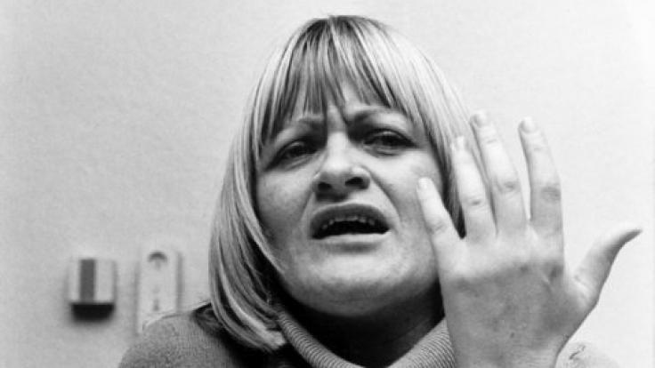 Alice Schwarzer am 3.12.1975. (Foto)