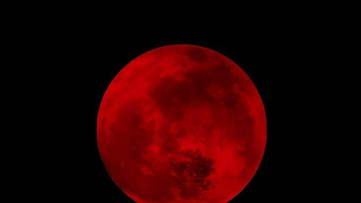 Was verbirgt sich hinter dem sterbenden Blutmond im Oktober? (Foto)