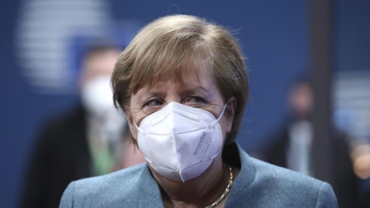 In einer Pressekonferenz verkündete Angela Merkel die neuen Corona-Maßnahmen. (Foto)