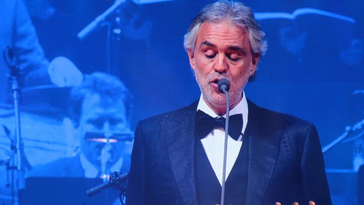 Andrea Bocelli geht 2018 auf Deutschland Tour.
