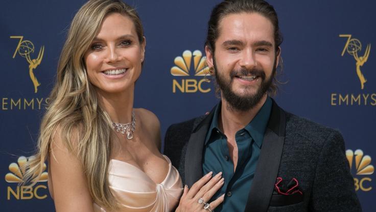 Fans sicher: Heidi Klum und Tom Kaulitz erwarten Nachwuchs. (Foto)