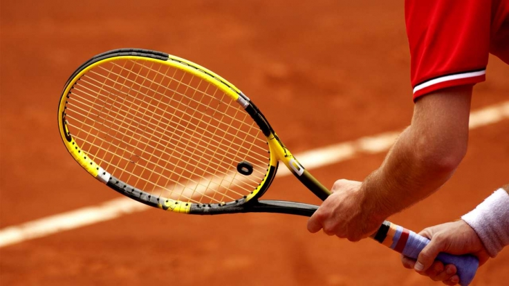Tennis im TV (Symbolbild).