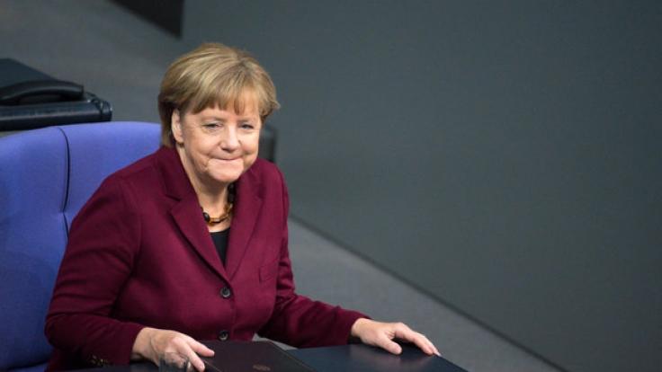Angela Merkel wird von der CDU zum Sündenbock gemacht.