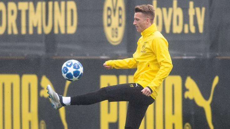 Marco Reus kehrt nach dreiwöchiger Zwangspause zurück ins BVB-Training.