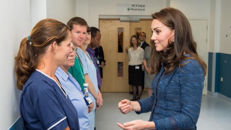 Dieses Bild soll angeblich Kates Babybauch zeigen.