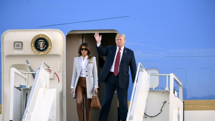 Hält sich Melania Trump etwa nur wegen einer Drohung ihres Mannes im Hintergrund? (Foto)