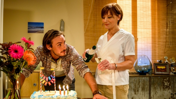 """Alexander Milz (William) und Marion Mitterhammer (Susan) sind die Neuen bei """"Sturm der Liebe"""". (Foto)"""