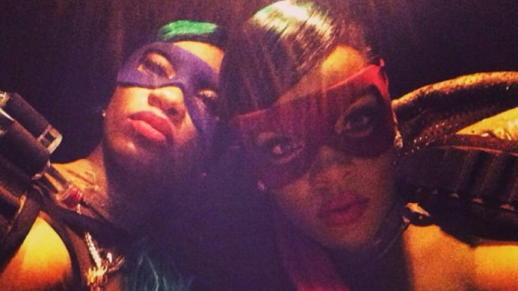 Rihanna verwandelte sich 2014 in Teenage Mutant Ninja Turtle Raphael. (Foto)