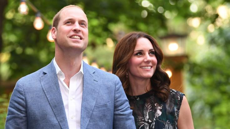 Nach der Geburt von Prinz Louis sollen Prinz William und Herzogin Kate Middleton bereits das nächste Kind erwarten. (Foto)