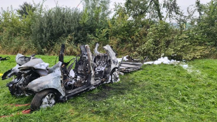 Bei einem Autounfall in Schleswig-Holstein sind drei Menschen ums Leben gekommen. (Foto)