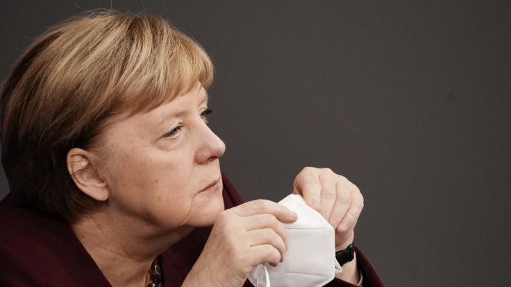 Angela Merkel wird für ihre lockeren Corona-Regeln kritisiert. (Foto)