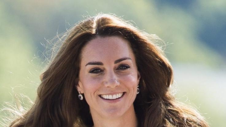 Kate Middleton bei einem ihrer Charity-Besuche. (Foto)
