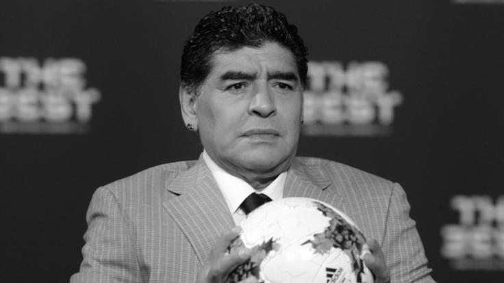 Diego Maradona wurde nur 60 Jahre alt. (Foto)