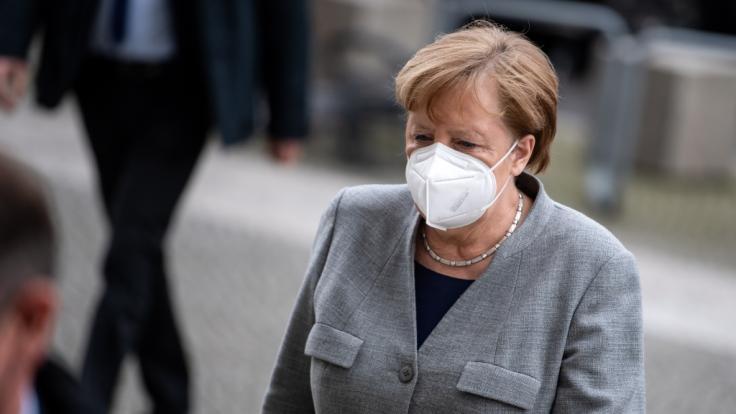 Bundeskanzlerin Angela Merkel plant offenbar eine Verschärfung der Ausgangssperre. (Foto)