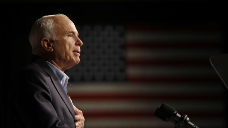John McCain ist im Alter von 81 Jahren gestorben. (Foto)