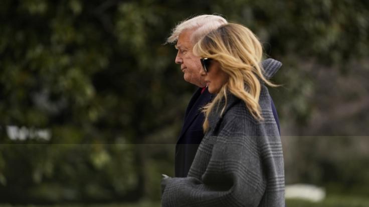 Gleich zwei Trennungen mussten die Trumps überwinden. (Foto)