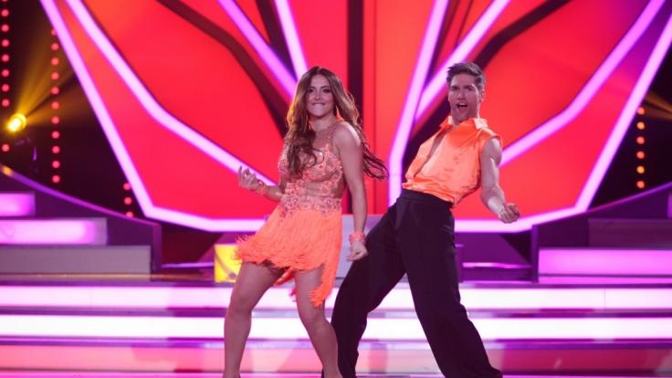 Enissa Amani und Christian Polanc haben gute Chancen bis ins Finale von