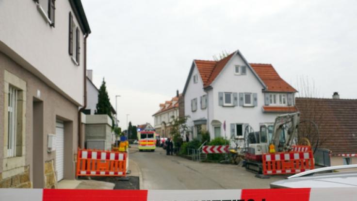 Das Haus der Familie wurde von der Polizei weiträumig abgesperrt. (Foto)