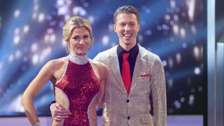 Valentina Pahde und Valentin Lusin landeten auf dem zweiten Platz. (Foto)