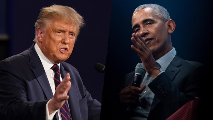 Obama attackiert Trump mitten im Wahlkampf. (Foto)