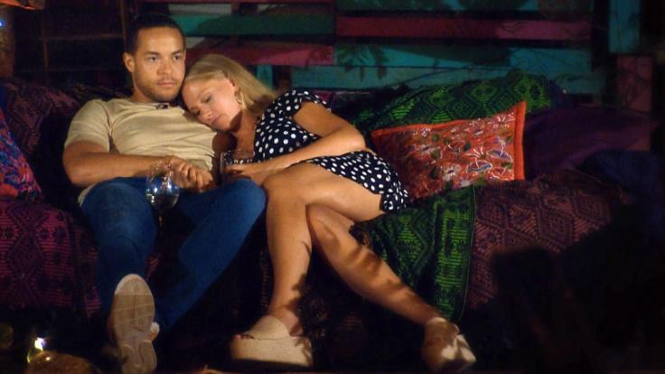 Andrej und Vanessa genießen die Zweisamkeit.