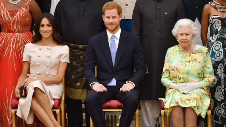 """Prinz Harry und Herzogin Meghan dürfen ihren Titel """"Sussex Royal"""" nicht als Markennamen verwenden. (Foto)"""