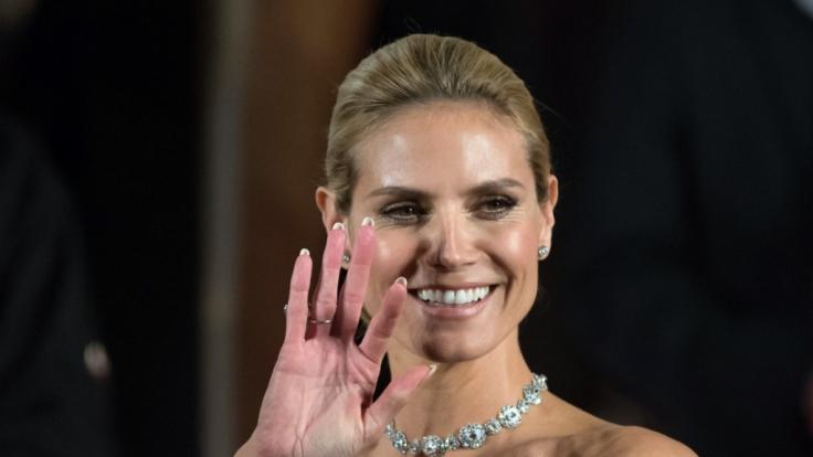 Heidi Klum sorgte in letzter Zeit schon oft für Aufsehen durch diverse Nippel-Blitzer. (Foto)