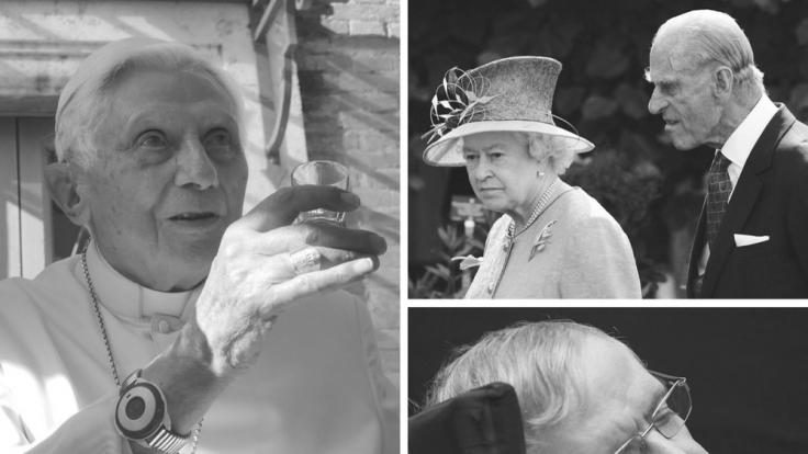 Laut Death List könnten Papst Benedikt, Prinz Philip und Stephen Hawking in diesem Jahr sterben. (Foto)