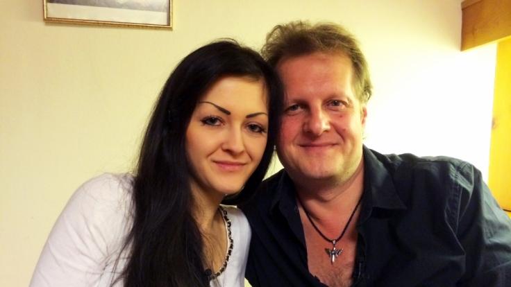Jens mit seiner Tochter Jenny. (Foto)