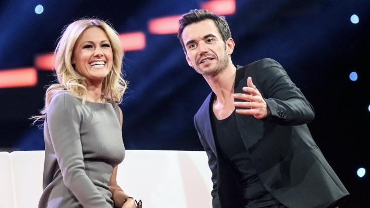 """Helene Fischer und ihr Freund Florian Silbereisen bei der ARD-Liveshow """"Das große Fest der Besten"""". (Foto)"""