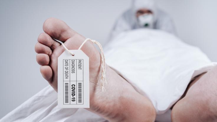 In Thailand hat sich ein Mediziner nach dem Kontakt mit einer Leiche mit dem Coronavirus infiziert. (Symbolfoto) (Foto)