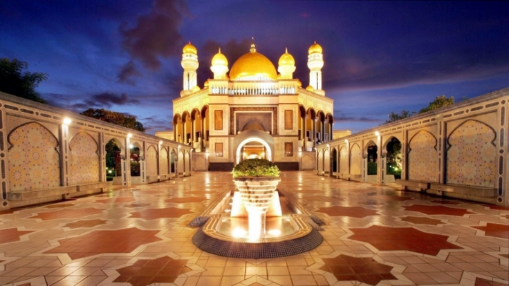 Moschee in Brunei (Foto)