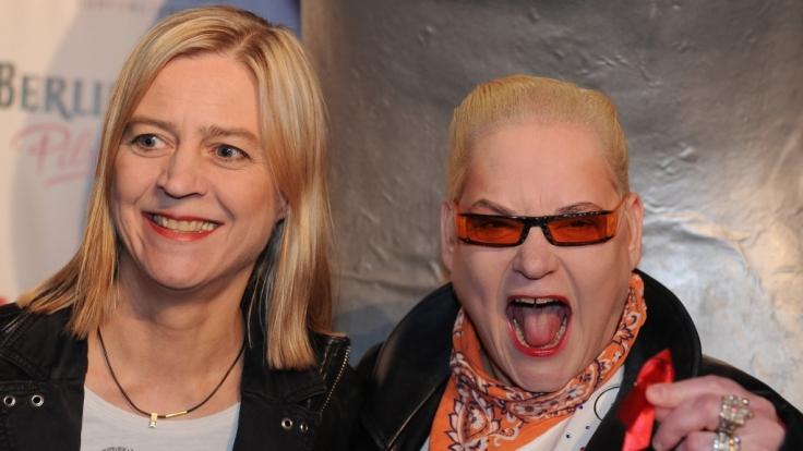 Cornelia Scheel und Hella von Sinnen.