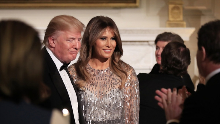 Für manche Beobachter ein eigenartiges Paar: Donald und Melania Trump. (Foto)