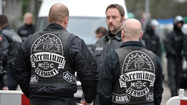 Der Gremium MC ist Deutschlands ältester Rockerclub. (Foto)