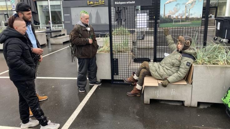 Prominent und obdachlos bei RTL Zwei (Foto)