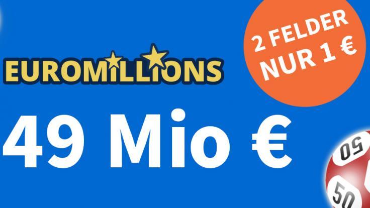 Am Dienstag, 21.09.2021, liegen 49 Mio. Euro im Jackpot bei EuroMillions (Foto)