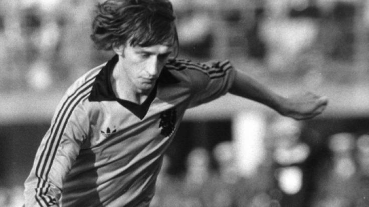 Der niederländische Fußballstar Rob Rensenbrink ist im Alter von 72 Jahren gestorben. (Foto)