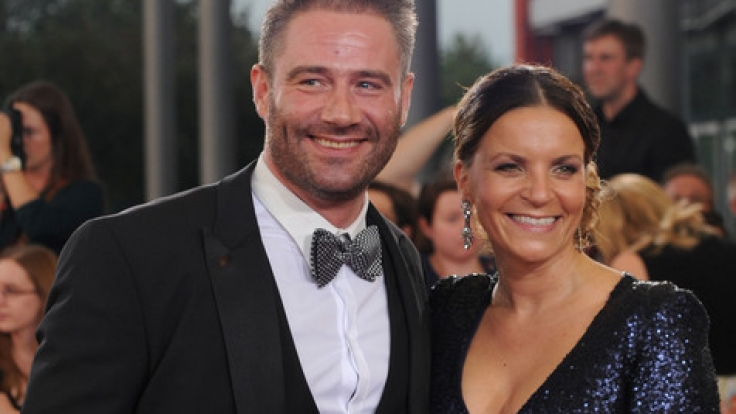 Sasha und seine Frau Julia Röntgen, mit der er seit 2015 verheiratet ist.