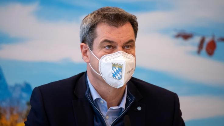 Markus Söder wagt eine düstere Prognose im Kampf gegen die Corona-Pandemie. (Foto)