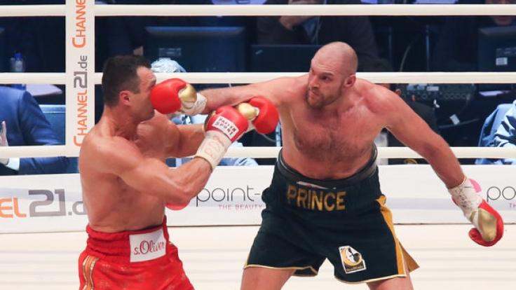 Wladimir Klitschko verliert seine Gürtel an Tyson Fury! (Foto)